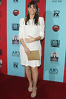 HOLLYWOOD, LOS ANGELES, CA, USA - OCTOBER 05: Amanda Peet arrives at the Los Angeles Premiere Screening Of FX's 'American Horror Story: Freak Show' held at the TCL Chinese Theatre on October 5, 2014 in Hollywood, Los Angeles, California, United States. (Photo by Celebrity Monitor)
