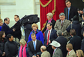 Bipartisan members of the United States Senate arrive for the ceremony where Donald J. Trump will be sworn-in as the 45th President of the United States on the West Front of the US Capitol on Friday, January 20, 2017.<br /> Credit: Ron Sachs / CNP<br /> (RESTRICTION: NO New York or New Jersey Newspapers or newspapers within a 75 mile radius of New York City)