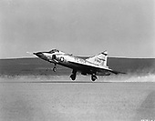 """The primary mission of the F-102 """"Delta Dagger"""" was to intercept and destroy enemy aircraft. It was the world's first supersonic all-weather jet interceptor and the  United States Air Force's (USAF) first operational delta-wing aircraft. The F-102 made its initial flight on October 24, 1953 and became operational with the Air Defense Command in 1956. At the peak of deployment in the late 1950's, F-102s equipped more than 25 ADC squadrons. Convair built 1,000 F-102s, 875 of which were F-102As. .Credit: U.S. Air Force via CNP"""