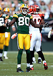 .Green Bay Packers' Donald Driver waits for a pass interference call in the 2nd quarter. .The Green Bay Packers hosted the Cincinnati Bengals at Lambeau Field Sunday September 20, 2009. Steve Apps-State Journal.