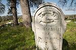 Historic 19th century Gold Rush era City Cemetery, Chinese Camp, Calif...Melissa Hull