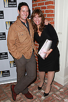 LOS ANGELES, CA, USA - OCTOBER 21: Rob Morrow, Robin Bronk arrive at The Creative Coalition's 'Art of Discovery' Los Angeles Launch Party held at the Home of Lawrence Bender on October 21, 2014 in Los Angeles, California, United States. (Photo by David Acosta/Celebrity Monitor)