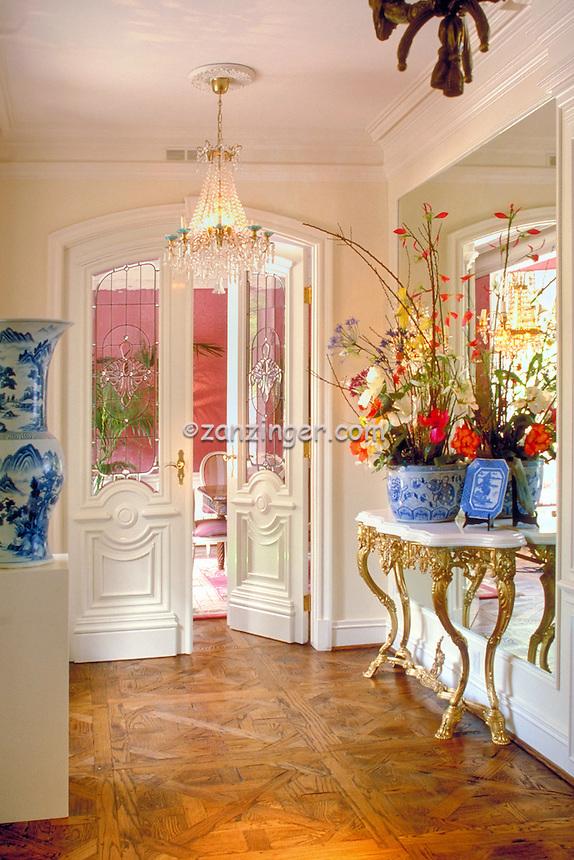Luxury, Contemporary Home, Interior, Doorway Entrance, Wood Molding .jpg