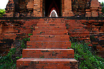 Two-Storied Gate, Banh It Cham Towers, near Quy Nhon, Vietnam. April 25, 2016.