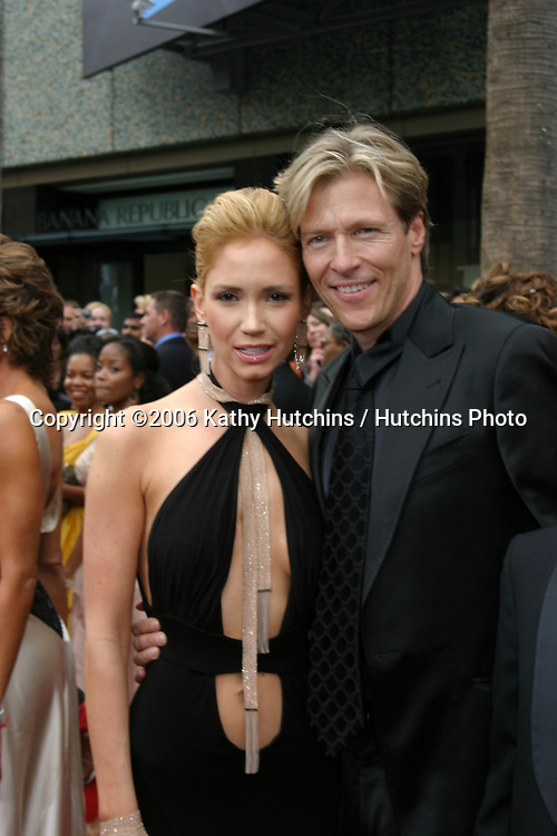 Ashley Jones and Jack Wagner