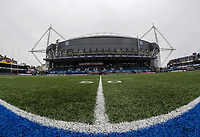A general view of BT Sport Cardiff Arms Park, home of Wales Womans<br /> <br /> Photographer Ian Cook/CameraSport<br /> <br /> Women's Six Nations Round 4 - Wales Women v Ireland Women - Saturday 11th March 2017 - Cardiff Arms Park - Cardiff<br /> <br /> World Copyright &copy; 2017 CameraSport. All rights reserved. 43 Linden Ave. Countesthorpe. Leicester. England. LE8 5PG - Tel: +44 (0) 116 277 4147 - admin@camerasport.com - www.camerasport.com