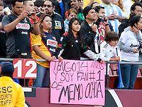 Fans. Real Madrid defeated Club America 3-2 at Candlestick Park in San Francisco, California on August 4th, 2010.