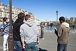 Filmmaking in Paris, France