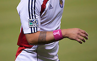 CARSON, CA – OCTOBER 9: Honoring Breast Cancer Awareness Month during a soccer match at Home Depot Center, October 9, 2010 in Carson California. Final score Chivas USA 3, Toronto FC 0.