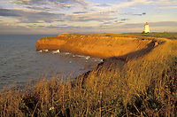 Cape Egmont Lighthouse, Cape Egmont, Baie Egmont Bay, Northumberland Straight, Prince Edward Island, Canada