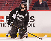 Scott Conway (PC - 10) - The Providence College Friars practiced at Fenway on Friday, January 6, 2017, in Boston, Massachusetts.