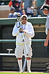5 March 2009: Baseball America photographer Morris Fostoff carries his camera prior to a Spring Training game between the Detroit Tigers and the Washington Nationals at Joker Marchant Stadium in Lakeland, Florida. The Tigers defeated the visiting Nationals 10-2 in the Grapefruit League matchup. Mandatory Photo Credit: Ed Wolfstein Photo