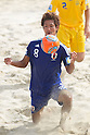 Masahito Toma (JPN), SEPTEMBER 4, 2011 - Beach Soccer : FIFA Beach Soccer World Cup Ravenna-Italy 2011 Group D match between Ukraine 4-2 Japan at Stadio del Mare, Marina di Ravenna, Italy, (Photo by Enrico Calderoni/AFLO SPORT) [0391]