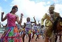 Reina del Carnaval de Barranquilla Cristina Felfle, 7-11-2014