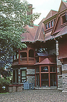 Hartford: Day House, Rear. Designed by Francis Kimball for Franklin Chamberlain. Photo '91.