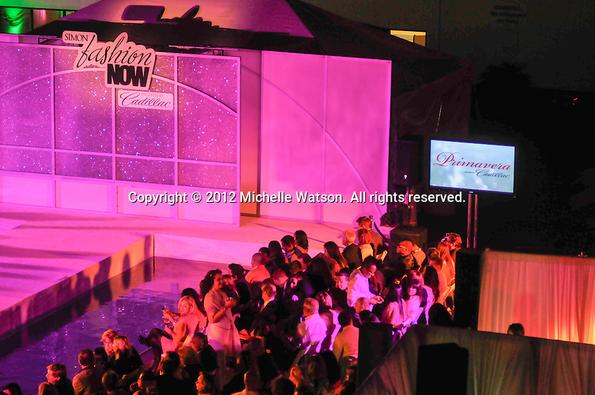 Simon Malls Houston Galleria Primavera Spring Fashion Show presented by Cadillac