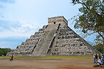 Chichen Itza is a large pre-Columbian archaeological site built by the Maya civilization located in the northern center of the Yucatán Peninsula, in the Yucatán state, present-day Mexico.