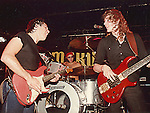 Neil Murray &amp; Ian Paice performing live with Gary Moore at Marquee Club in London <br />