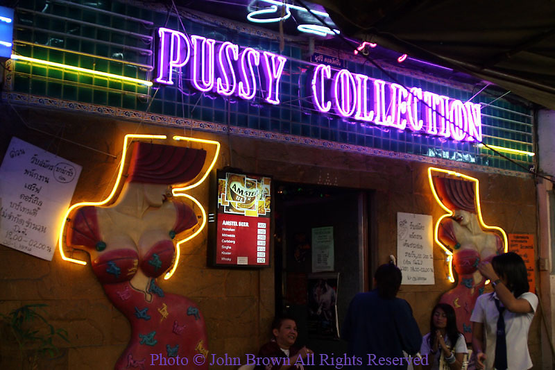 SEX TOURISM IN BANGKOK THAILAND PUSSY PHOTO JB626035 A customer receives a massage at a cut rate parlour where sex is ...
