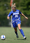 23 September 2007: Duke's Elisabeth Redmond. The Duke University Blue Devils defeated the Ohio State University Buckeyes 2-1 at Koskinen Stadium in Durham, North Carolina in an NCAA Division I Women's Soccer game, and part of the annual Duke Adidas Classic tournament.
