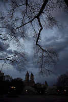Night Falls in Central Park
