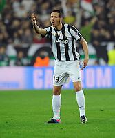 FUSSBALL  CHAMPIONS LEAGUE  VIERTELFINALE  RUECKSPIEL  2012/2013      Juventus Turin - FC Bayern Muenchen        10.04.2013 Leonardo Bonucci (Juventus Turin)