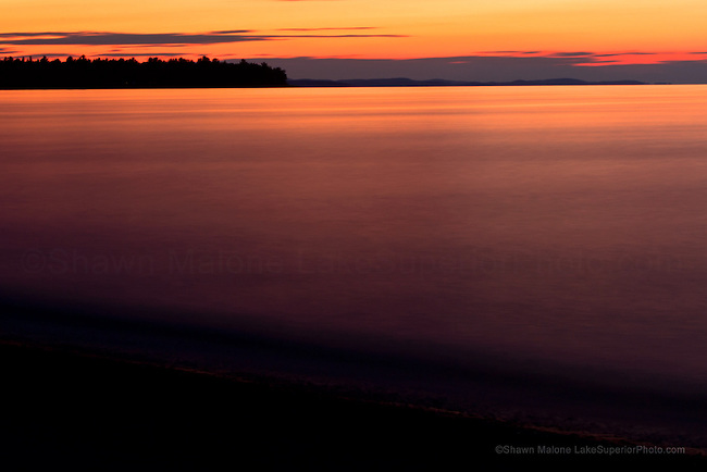 Shot Point Sunset photo, picture, image, Marquette County, Shawn Malone, LakeSuperiorPhoto