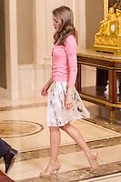 Princess Letizia, I edition of the course for young iberoame