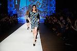 20.1.2015, Potsdam Now Fashion Week. Gezeigt werden moderne, exklusive Kollektionen f&uuml;hrender israelischer Designerinnen und Designer. Shani Zimmerman und Zion Anava interpretieren auf sehr unterschiedliche Weise elegante Ready-To-Wear. Danach geht es weiter mit der Kollektion des ebenfalls aus Tel Aviv stammenden, seit 2014 jedoch auch in Amsterdam vertretenen Labels Frau Blau. Efrat Kalig ist ber&uuml;hmt f&uuml;r ihre eindrucksvolle Couture und bildet den Abschluss der Schauen.<br /><br />Show von Frau Blau