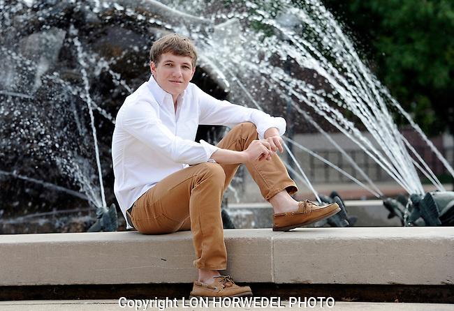 Matt Blunk senior portraits.