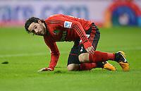 FUSSBALL   1. BUNDESLIGA   SAISON 2012/2013    20. SPIELTAG Bayer 04 Leverkusen - Borussia Dortmund                  03.02.2013 Gonzalo Castro (Bayer 04 Leverkusen) ist enttaeuscht