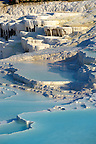 Pictures &amp; Image  of Pamukkale Travetine Terrace, Turkey. Images of the white Calcium carbonate rock formations. Buy as stock photos or as photo art prints. 2