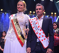 Adriana Karembeu présente le Top Model Belgium 2013 - Belgique
