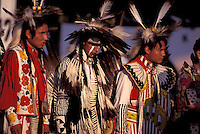 Native Americans, dancers, (Lakota - Sioux ), Rosebud Fair Pow Wow,  Rosebud Indian reservation, South Dakota, USA