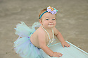 Morgan M Baby Bee Beach Session One year