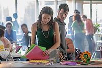 """An epic romance between a human girl (Aimee Teegarden) and an alien boy (Matt Lanter) on CW Networks' """"Star-Crossed"""""""