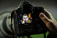 Chiefs photographer Kevin Booth's photo of Stephen Donald during the Super Rugby match between the Chiefs and Reds at Yarrow Stadium in New Plymouth, New Zealand on Saturday, 6 May 2017. Photo: Dave Lintott / lintottphoto.co.nz
