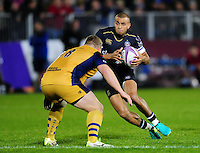 Jonathan Joseph of Bath Rugby in possession. European Rugby Challenge Cup match, between Bath Rugby and Bristol Rugby on October 20, 2016 at the Recreation Ground in Bath, England. Photo by: Patrick Khachfe / Onside Images