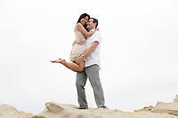 7 June 2010:  Jeff Benedict and Rhea Sy Engagement portraits in Corona Del Mar, CA.  With doggie Saku Koivu a one year old boston terrier.