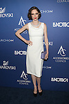 Supermodel Coco Rocha In White Attends The Accessories Council Toasts 20 Years at the 2014 Ace Awards Held at Cipriani 42nd Street