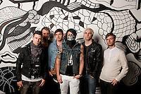 Lostprophets editorial photo shoot, Melbourne, March 2012
