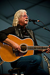 Arlo Guthrie performing at the New Orleans Jazz and Heritage Festival in New Orleans, Louisiana, May 1, 2011.