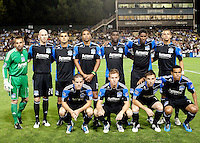 San Jose Earthquakes Starting Eleven. The Chicago Fire defeated the San Jose Earthquakes 3-0 at Buck Shaw Stadium in Santa Clara, California on September 29th, 2010.