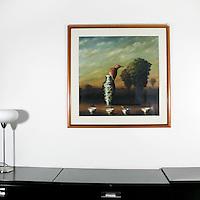 "Kroll: , Digital Print, Image Dims. 29"" x 29"", Framed Dims. 38.5"" x 38.5"""