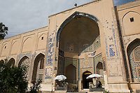 Tomb of Abdullah Ansari, Herat Afghanistan. The Sufi poet died in 1088. His tomb outside of Herat draws large crowds of devotees.