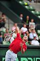Kei Nishikori (JPN), SEPTEMBER 16, 2011 - Tennis : Davis Cup by BNP Paribas 2011 World Group play-off match Kei Nishikori(JPN) 3(6-3 6-2 6-2)0 Rohan Boppana (IND) at Ariake Colosseum, Tokyo, Japan. (Photo by Jun Tsukida/AFLO SPORT) [0003]
