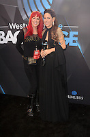 LOS ANGELES, CA - NOVEMBER 20: Teri Groves, Kerri Kasem at Westwood One on the carpet at the 2016 American Music Awards at the Microsoft Theater in Los Angeles, California on November 20, 2016. Credit: David Edwards/MediaPunch