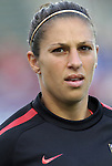 18 May 2011: Carli Lloyd (USA). The United States Women's National Team defeated the Japan Women's National Team 2-0 at WakeMed Stadium in Cary, North Carolina as part of preparations for the 2011 Women's World Cup.