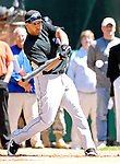 21 May 2007: Toronto Blue Jays outfielder Vernon Wells participates in the pre-game Home Run Derby at Doubleday Field prior to Baseball's Annual Hall of Fame Game in Cooperstown, NY. Wells hit 13 homers in 3 rounds of competition to win the event...Mandatory Credit: Ed Wolfstein Photo
