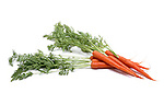 Carrots still life.